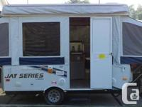 2010 Jayco Jay Series model 1007 tent trailer.