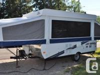 2010 JAYCO 1207 tent trailer, 12', 2124 lb. Sleeps 8-9.