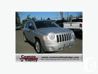The 2010 Jeep Compass Sport/ North features tilt