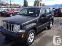 With the Jeep Liberty class leading 4 wheel drive