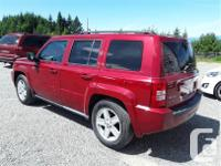 Make Jeep Model Patriot Year 2010 Colour Red kms