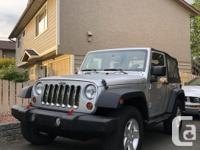Make Jeep Model Wrangler Year 2010 Colour Silver kms