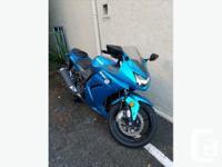 Make Kawasaki Year 2010 kms 4712 Had this bike for one