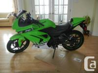 2010 Kawasaki Ninja 250 Special edition ! only