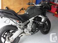 Very clean, well kept motorcycle, always garage stored,