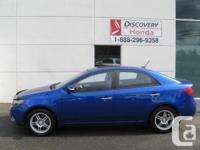 Make Kia Model Forte Colour Blue Trans Manual kms
