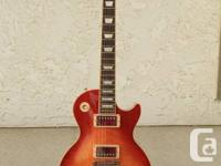 Selling one of my two Les Paul Standards.  Cherry