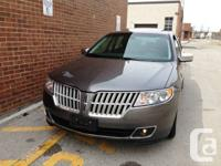 2010 LINCOLN MKZ,  Auto, 1 OWNER,  93000 km, no