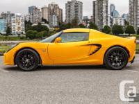 2010 Lotus Elise. Shade: Solar Yellow Metallic. Gas