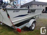 Boat comes with a 20Hp Mercury, Electric Start and