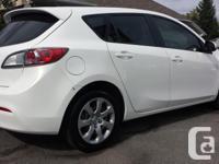 Make Mazda Model MAZDA3 Year 2010 Colour WHITE kms