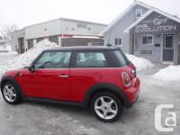 Make Mini Model Cooper Coupe Year 2010 Colour RED kms
