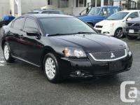 Make Mitsubishi Model Galant Year 2010 Colour Black for sale  British Columbia