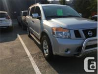 Make Nissan Model Armada Year 2010 Colour Silver kms