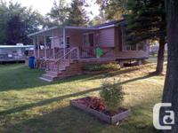 2010 Northlander, 2 bed room, living area, kitchen and