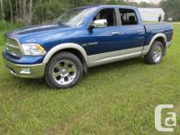 Make Dodge Model Ram 1500 Year 2010 Colour Blue kms