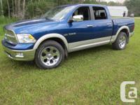 Make Dodge Model Ram 1500 Year 2010 Colour Blue kms