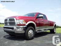 Make Dodge Version Ram 3500 Year 2010 Colour Red kms