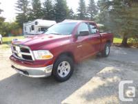 Make. Dodge. Version. Ram 1500. Year. 2010. kms.