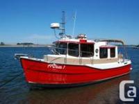This Boat is Powered by 150hp Yanmar Diesel  Options