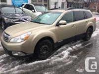 Make Subaru Model Outback Year 2010 Colour Gold kms