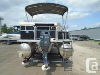 2010 Sylvan 8520 Mirage Cruise Description: This 20',