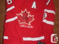 Brand name New with Tags.  Sidney Crosby Red Jacket.
