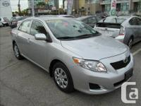 2010 Toyota Corolla CE Auto Toyota Certified Used