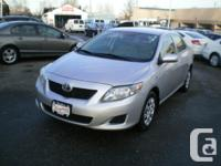 Make Toyota Model Corolla Year 2010 Colour Silver kms