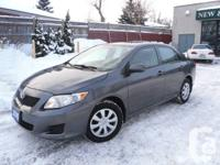 AUTOMATIC ,ONE OWNER,DIRECT FROM TOYOTA CANADA LEASE,