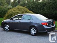 2010 Toyota Corolla CE        4 Cyl with 1.8L Engine