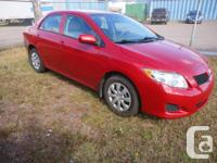 Make Toyota Model Corolla Colour RED Trans Automatic