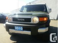 Make Toyota Model FJ Cruiser Year 2010 kms 72855 Price: