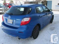 Make Toyota Model Matrix Year 2010 Colour Blue kms