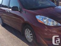 Make Toyota Model Sienna Year 2010 Trans Automatic kms