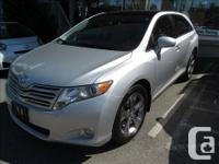 2010 Toyota Venza V6 AWD Toyota Certified Used Vehicle.