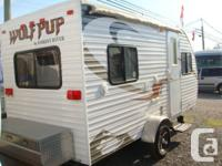 2010 Wolf Pup 17ft Travel trailer light Weight towable