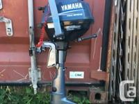 Yamaha 2.5 Hp 4 Stoke in excellent condition,hardly any