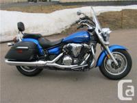 2010 Yamaha V-Star 1300 Tourer! Only 9300 kms!! $8499