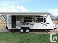 Here is a like new light weight  trailer that is a must