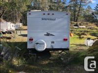 very clean, hardly moved from our property in Sooke,