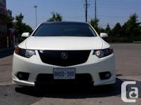 Make Acura Model TSX Year 2011 Colour White kms 60000