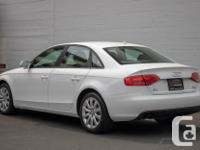 Make Audi Model A4 Year 2011 Colour White kms 104000