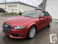 Make Audi Model A4 Year 2011 Colour Red kms 50000