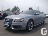 Make Audi Model A5 Year 2011 Colour grey kms 75460