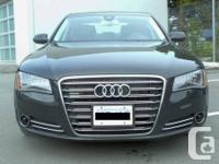Selling my A8, second owner, local car from Open Road