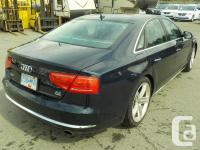 Make Audi Model A8 Year 2011 Colour Blue kms 172722