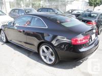 Make Audi Model S5 Year 2011 Colour Black kms 69000