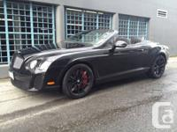 For sale is a 2011 Bentley Continental GTC Supersports