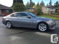 Make BMW Model 328i xDrive Year 2011 Colour Grey kms
